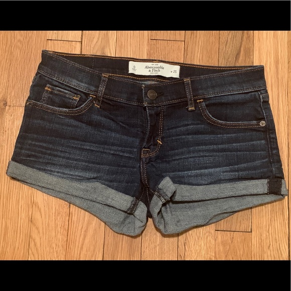 Abercrombie & Fitch Pants - A&F Denim Shorts Size 0/25W